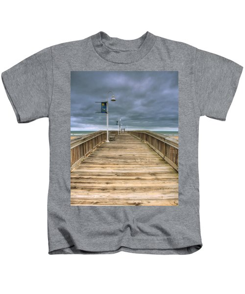 Little Island Pier Kids T-Shirt