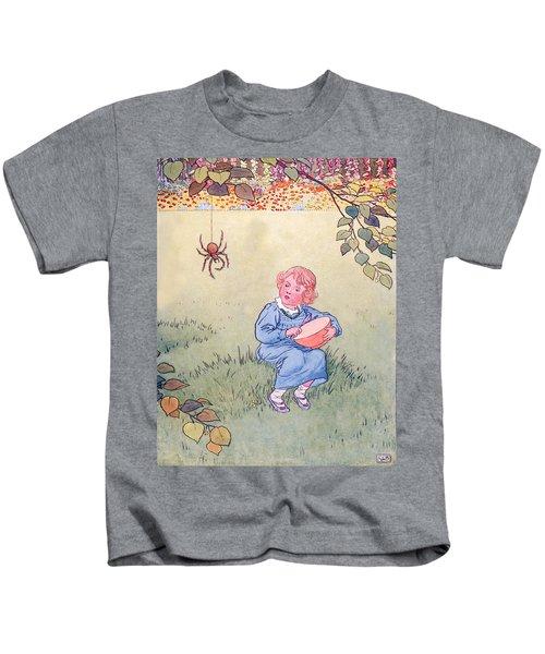 Little Miss Muffet Kids T-Shirt