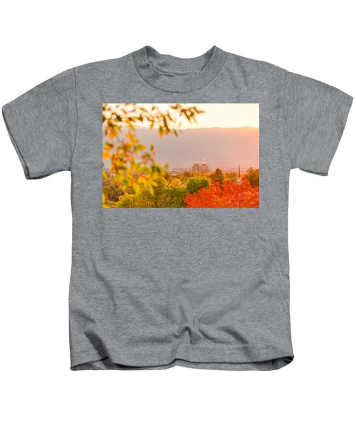 Logan Temple Kids T-Shirt