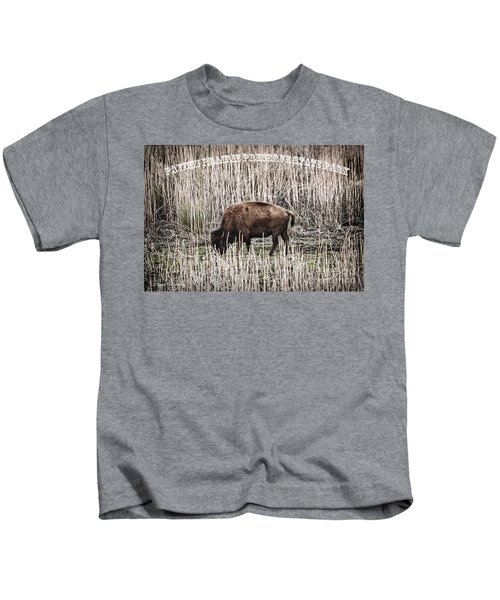 Lone Buffalo Kids T-Shirt