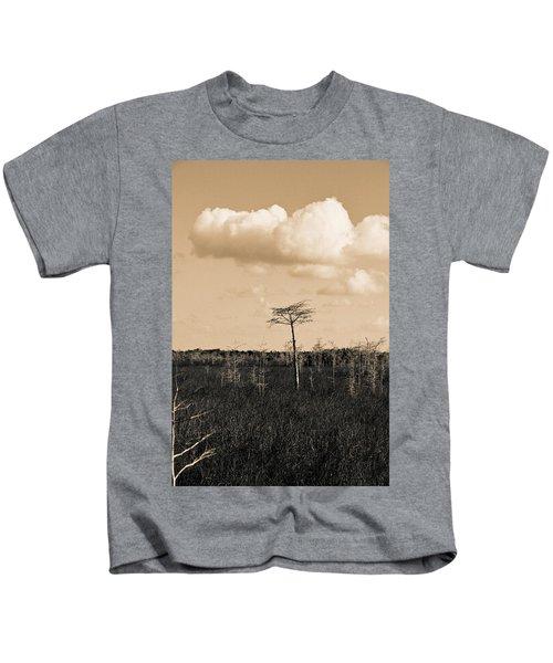 lone cypress III Kids T-Shirt
