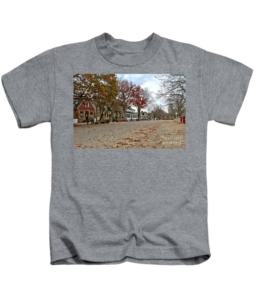 Lonely Colonial Williamsburg Kids T-Shirt