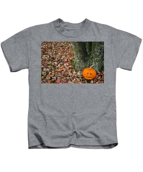 Lonely Pumpkin Kids T-Shirt