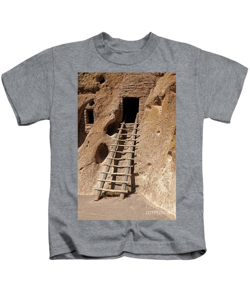 Long House Front Door Bandelier National Monument Kids T-Shirt