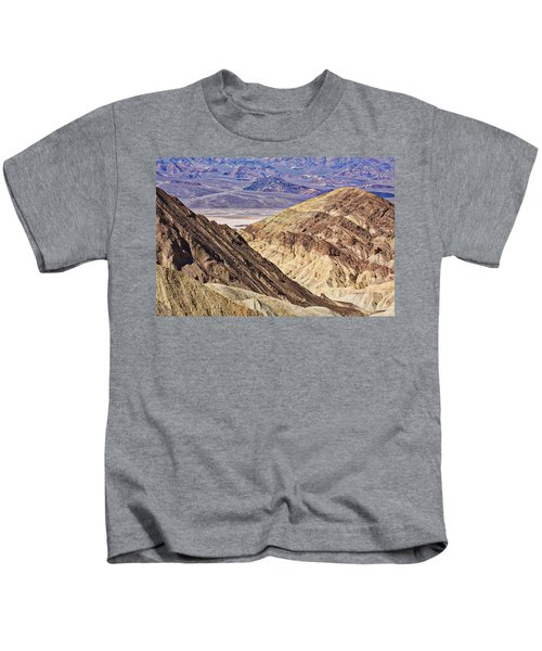 Looking Across The Valley Kids T-Shirt