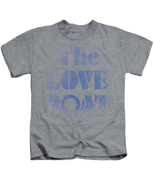 Love Boat - Distressed Kids T-Shirt