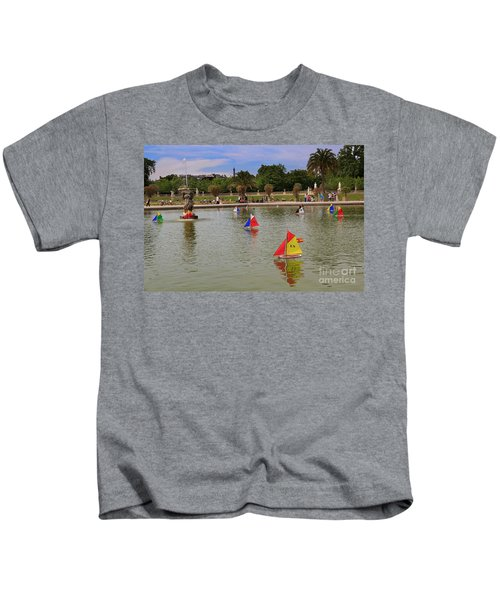 Luxembourg Gardens Paris Kids T-Shirt