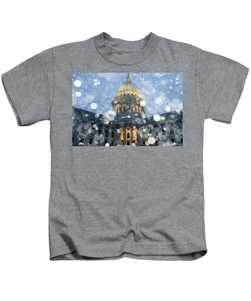 Madisonian Winter Kids T-Shirt