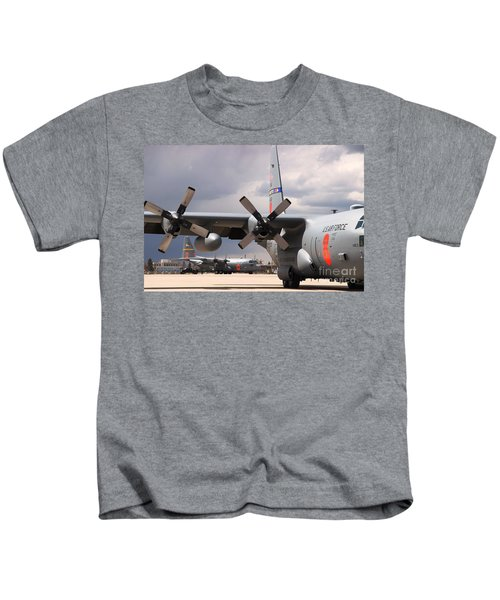 Maffs C-130s At Cheyenne Kids T-Shirt