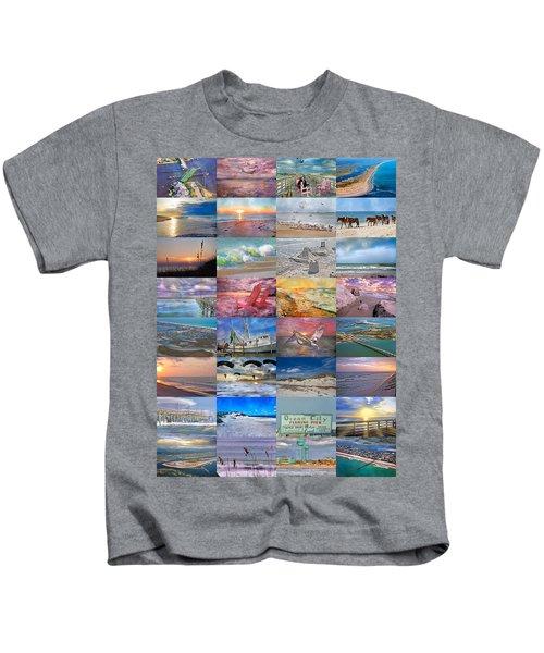 Magnificent Coastal North Carolina Kids T-Shirt