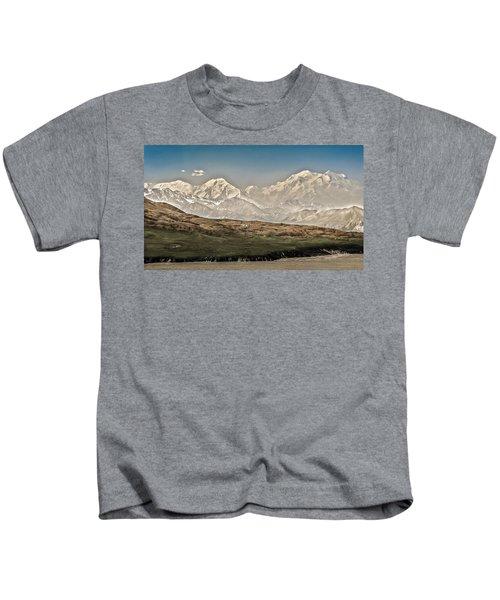 Majestic Mount Mckinley Kids T-Shirt