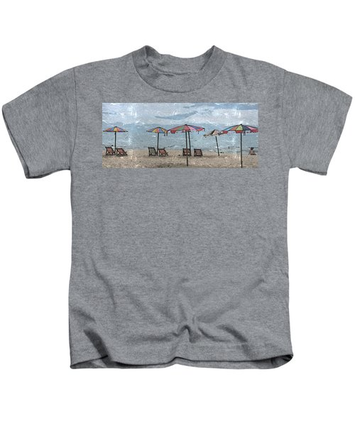 Malazy Day At The Beach Kids T-Shirt