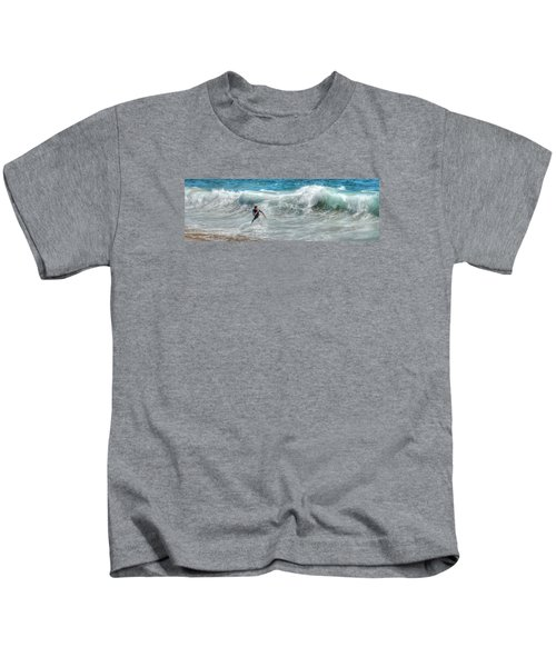 Man Vs Wave Kids T-Shirt