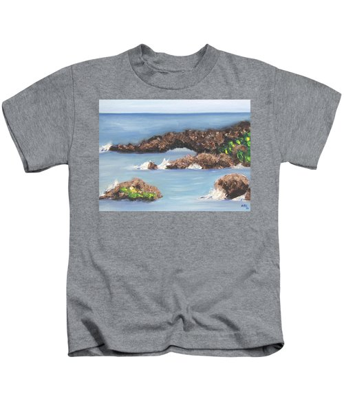 Maui Rock Bridge Kids T-Shirt
