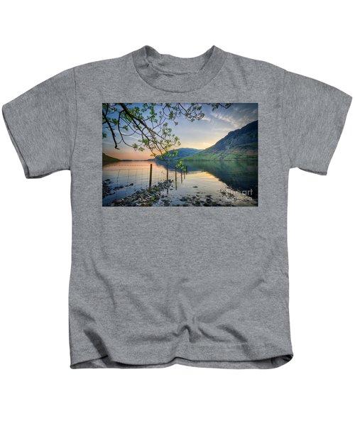 Melancholy Of Sunset Kids T-Shirt