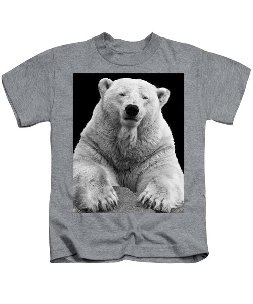 Mercedes The Polar Bear Kids T-Shirt