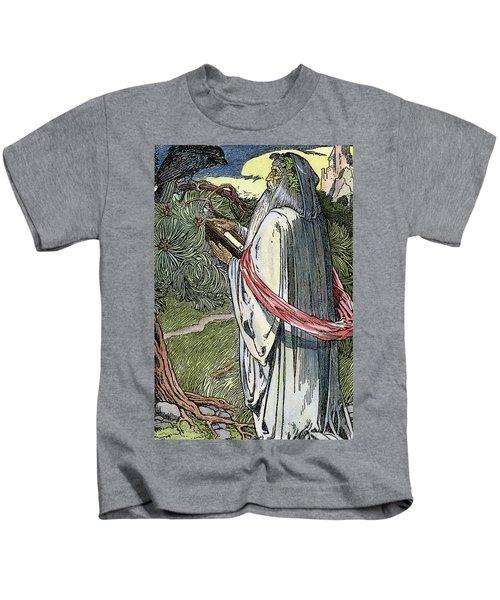 Merlin The Magician, 1923 Kids T-Shirt