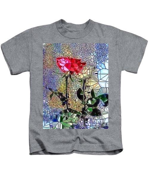 Metalic Rose Kids T-Shirt