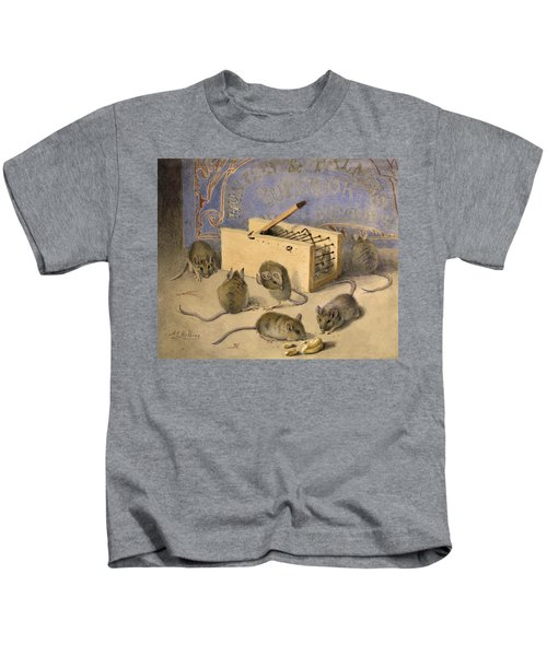 Mice And Huntley Palmers Superior Biscuits Kids T-Shirt