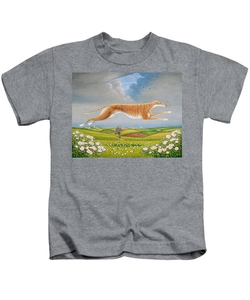 Mick The Miller, 1992 Oils And Tempera On Panel Kids T-Shirt