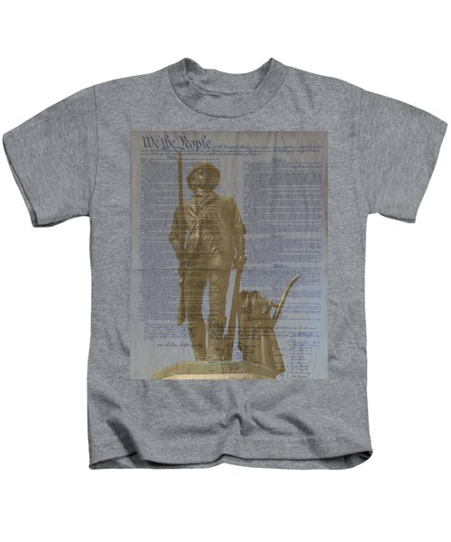 Minuteman Constitution Kids T-Shirt