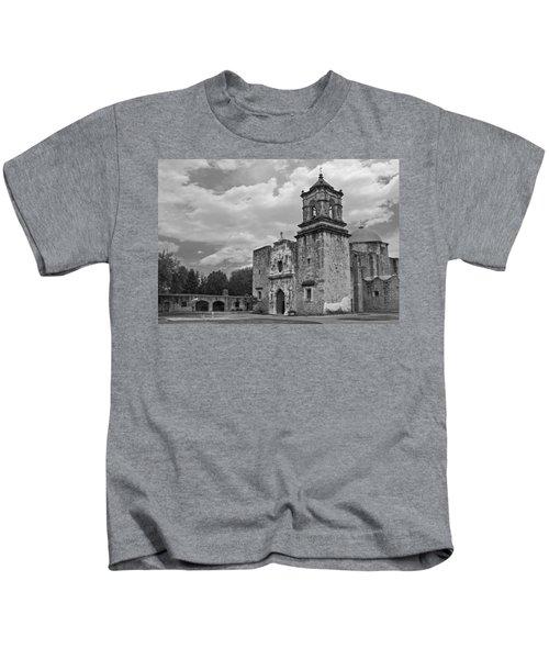 Mission San Jose Bw Kids T-Shirt