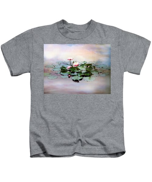 Monet Lilies  Kids T-Shirt