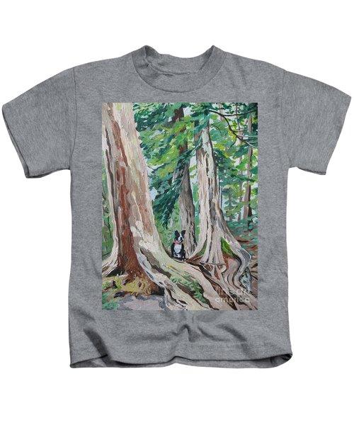 Monty's Travels Kids T-Shirt