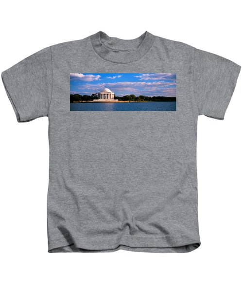 Monument On The Waterfront, Jefferson Kids T-Shirt by Panoramic Images