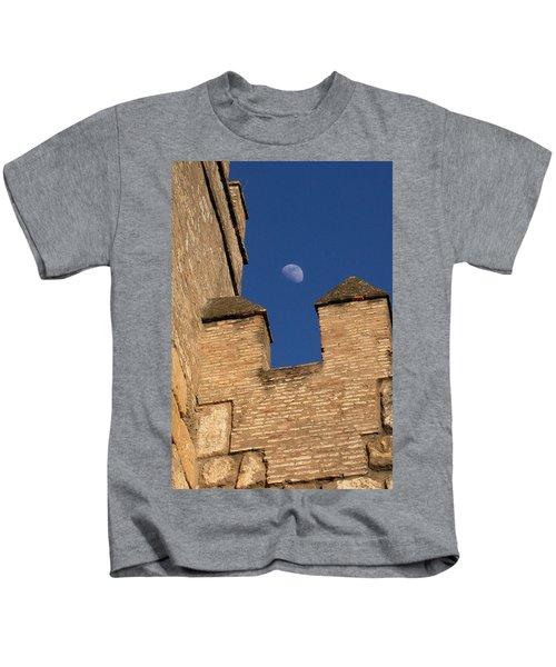 Moon Over Alcazar Kids T-Shirt