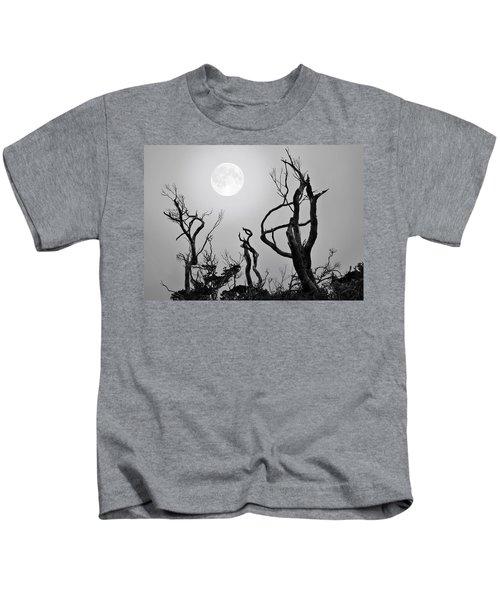 Moon Whisperer Kids T-Shirt