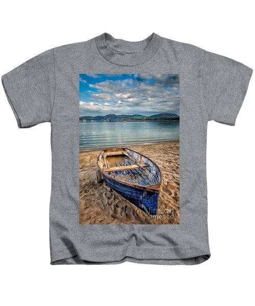 Morfa Nefyn Boat Kids T-Shirt