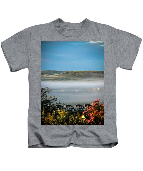 Morning Mist Over Lissycasey Kids T-Shirt