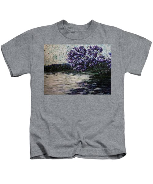 Morning Reflections Kids T-Shirt