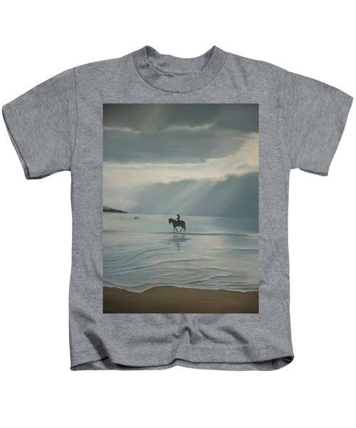 Morning Ride Kids T-Shirt
