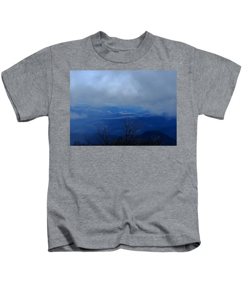 Mountains And Ice Kids T-Shirt