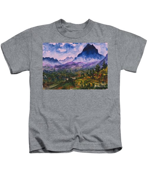 Mountains Of Pyrenees  Kids T-Shirt