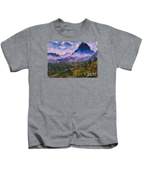 Mountains Of Pyrenees  Kids T-Shirt