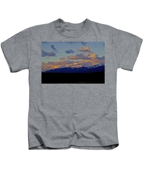 Mt Elbert Sunrise Kids T-Shirt