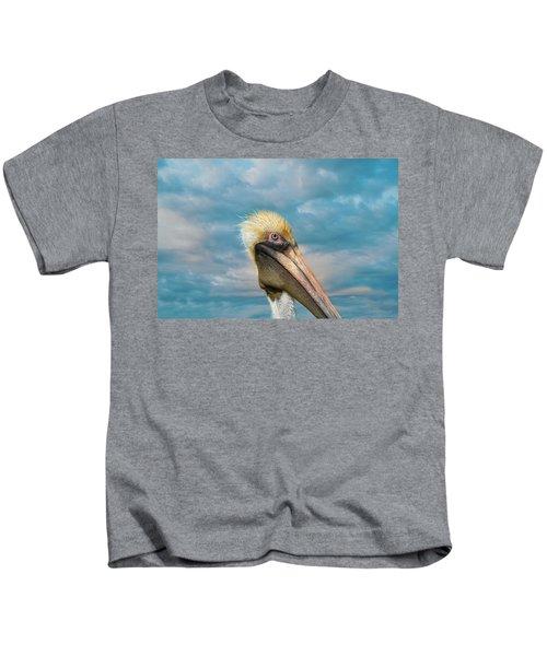 My Better Side - Florida Brown Pelican Kids T-Shirt