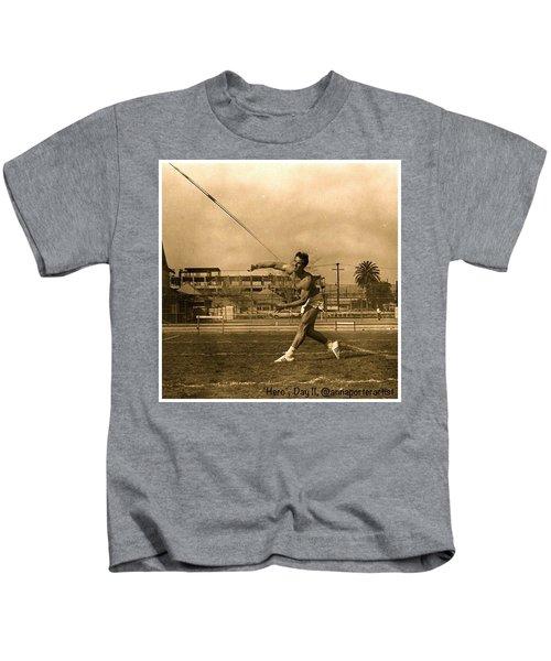 My #hero, George Porter, 1968 Kids T-Shirt