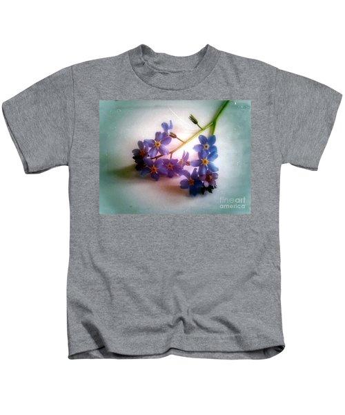 Myosotis  Forget Me Not Kids T-Shirt