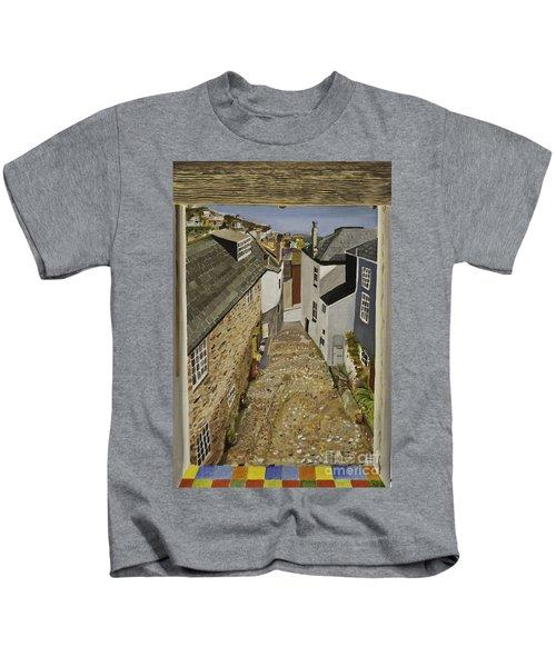 Myrtle Cottage View Kids T-Shirt