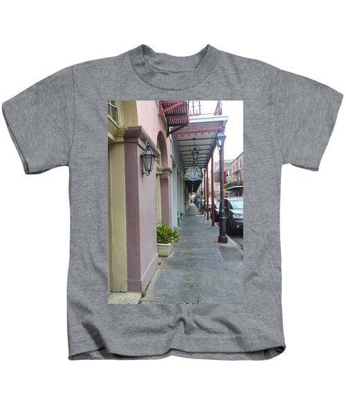French Quarters In New Orleans 16 Kids T-Shirt