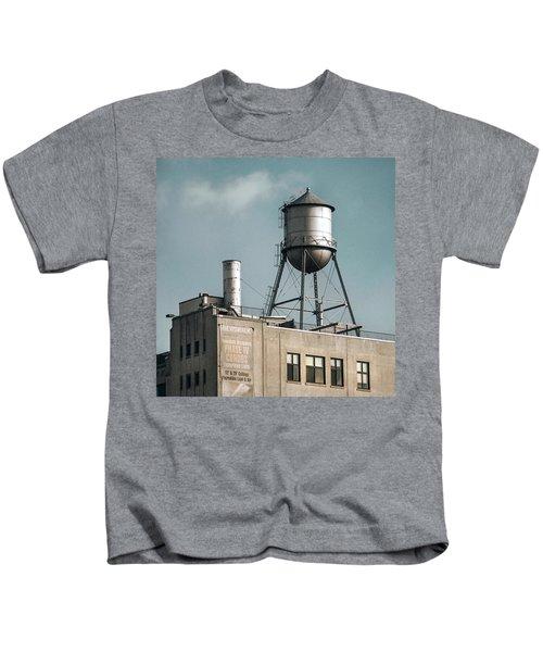 New York Water Towers 10 Kids T-Shirt