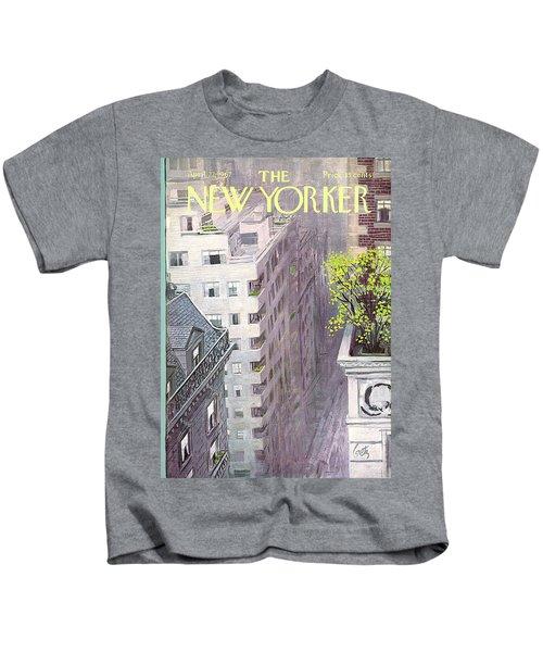New Yorker April 22nd, 1967 Kids T-Shirt