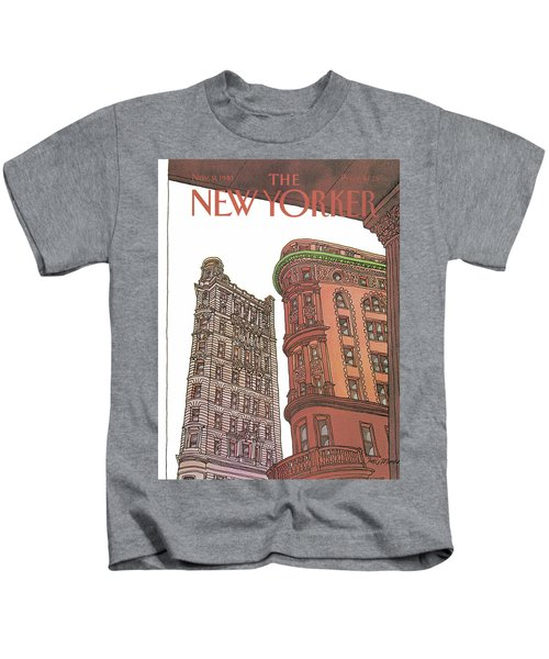 New Yorker November 9th, 1981 Kids T-Shirt