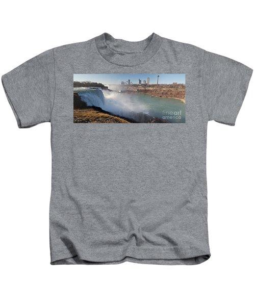 Niagara Falls Panorama Kids T-Shirt