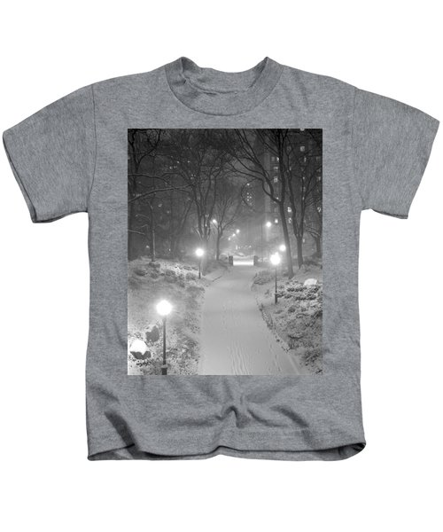 Night Storm New York Kids T-Shirt