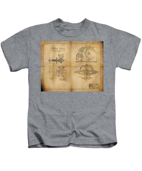 Nikola Telsa's Work Kids T-Shirt